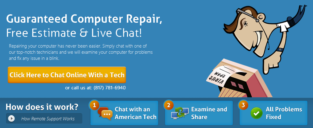 remote support computer repair